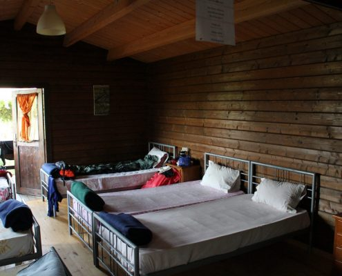Snoring in the dormitory is part of camino life