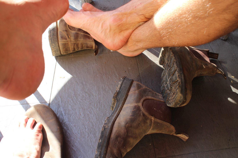 Pakkeliste til caminoen for mænd - sådan undgår du vabler